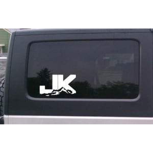 JK Rock Crawler Jeep Decal Stickers