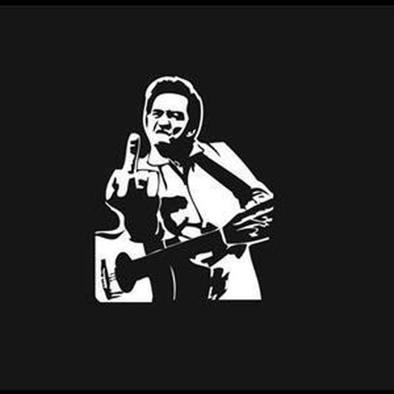 Johnny Cash – Band Stickers