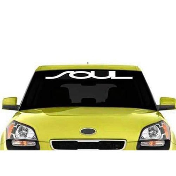 Kia Soul Windshield Banner Decal Sticker