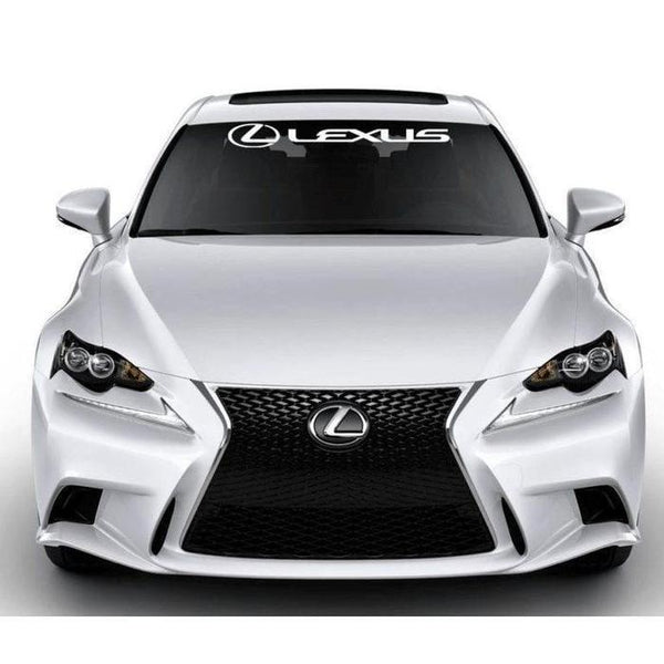Lexus Windshield Banner Decal Sticker