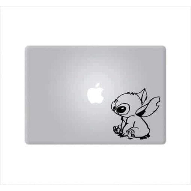 Lilo Stitch Sitting – Decal Laptop Decals Stickers