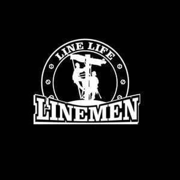 Lineman Decal – Line Life Lineman a1 Sticker