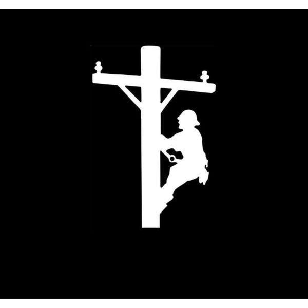 Lineman Decal – Lineman electrician Sticker a1