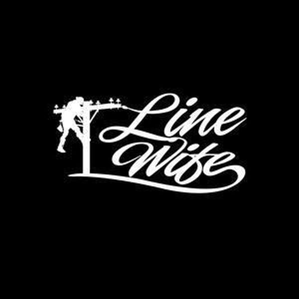 Lineman Decal – Lineman wife Line Life Sticker