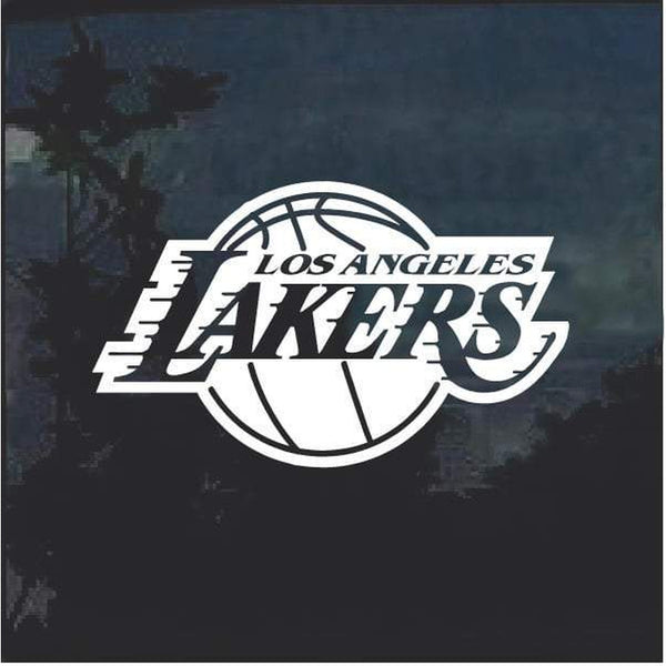 Los Angeles Lakers NBA Decal Sicker
