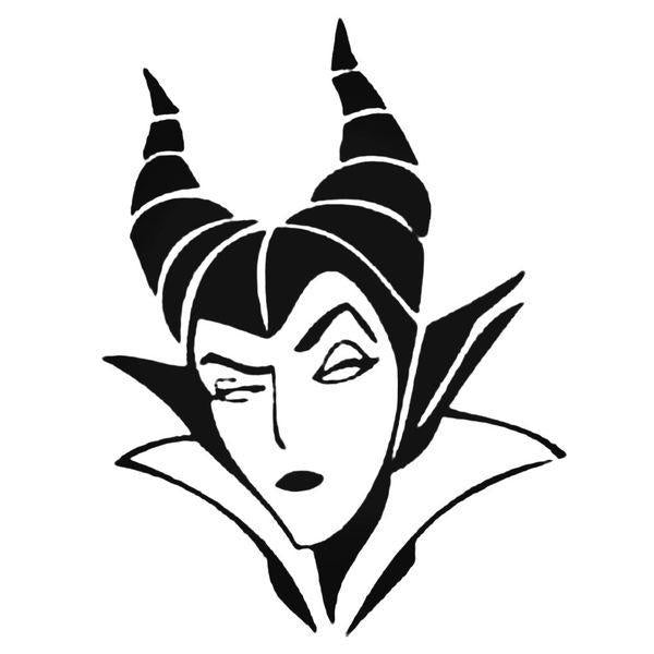 Maleficent Disney Decal Sticker
