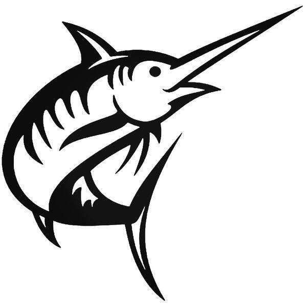 Marlin Fish Fishing Decal Sticker
