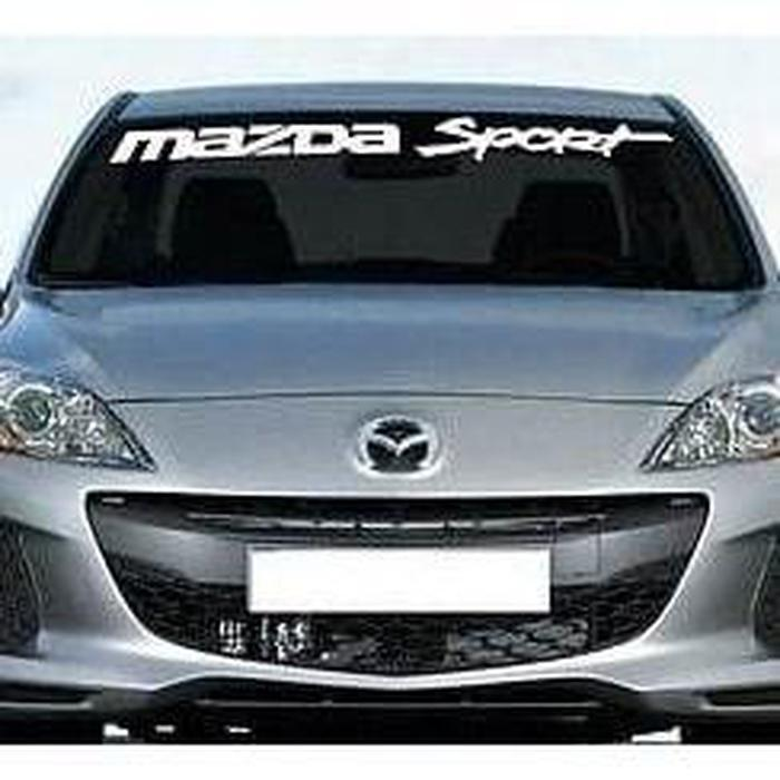 Mazda Sport Windshield Banner Decal Sticker