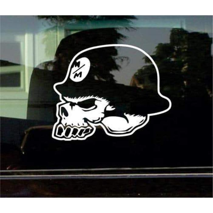Metal Mulisha Skull Truck Decal Sticker