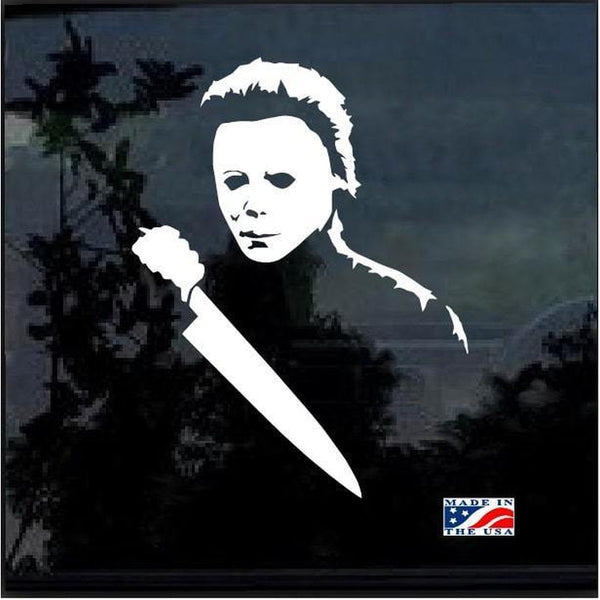Michael Myers Horror a4 Window Decal Sticker