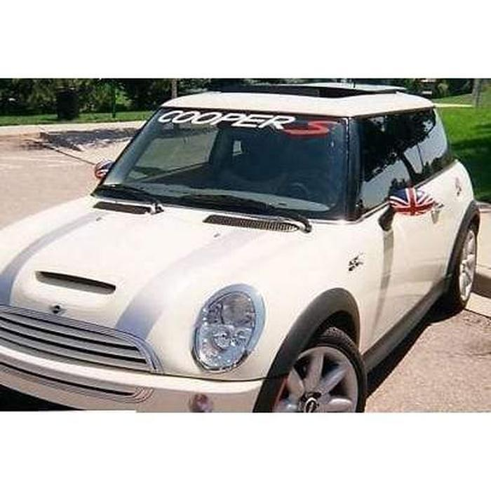 Mini Cooper S Windshield Banner Decal Sticker