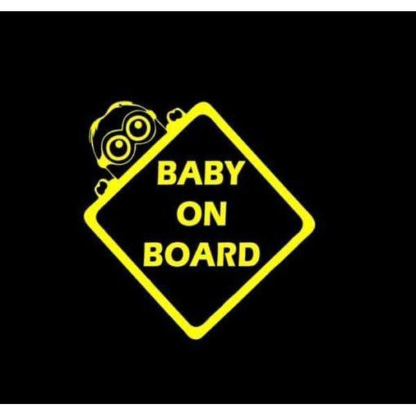 Minions – Baby on Board Sticker