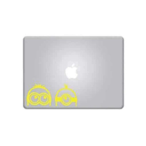 Minions Peeking – Decal Laptop Decals Stickers