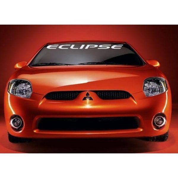 Mitsubishi Eclipse Windshield Banner Decal Sticker