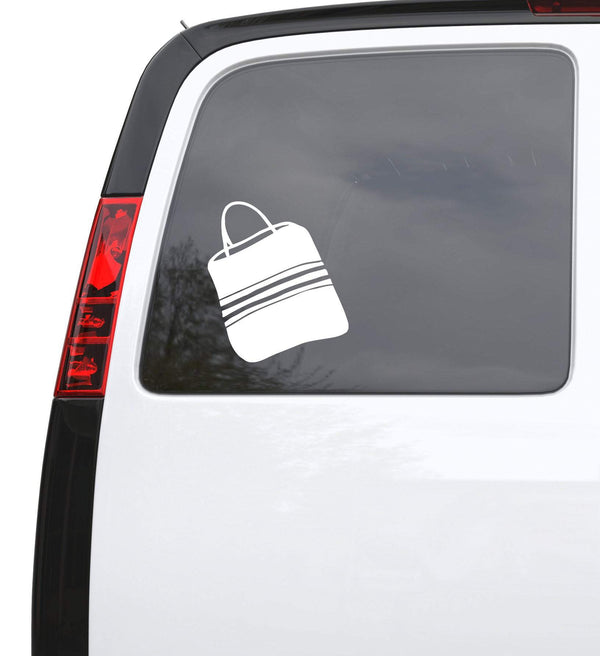 Auto Car Sticker Decal Bag Shopping Purse Beach Bag Laptop Window 5""