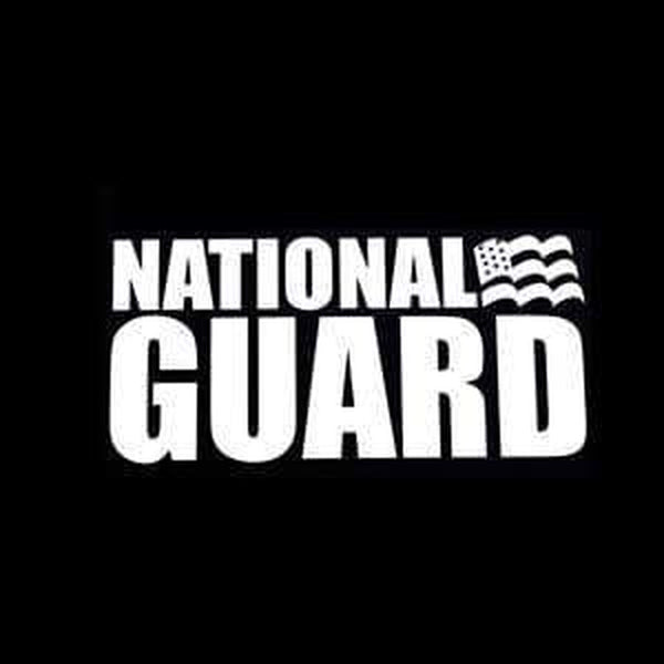 National Guard Military Window Decal Stickers
