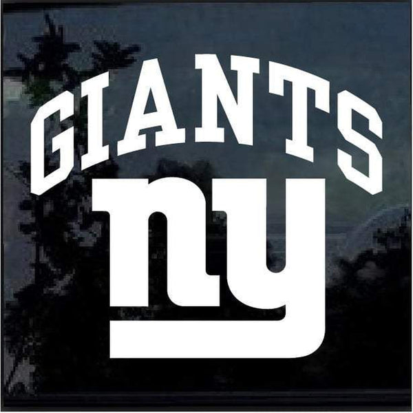 New York NY Giants Window Decal Sticker