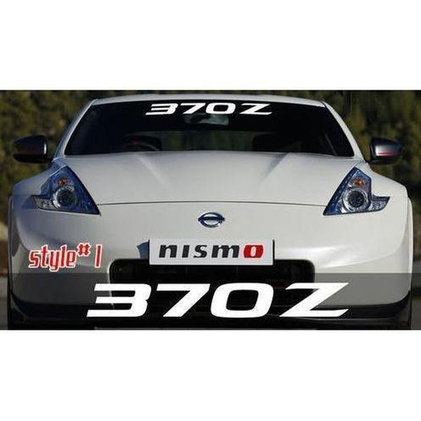 Nissan 370Z Windshield Banner Decal Sticker