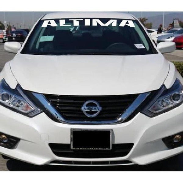 Nissan Altima Windshield Banner Decal Sticker