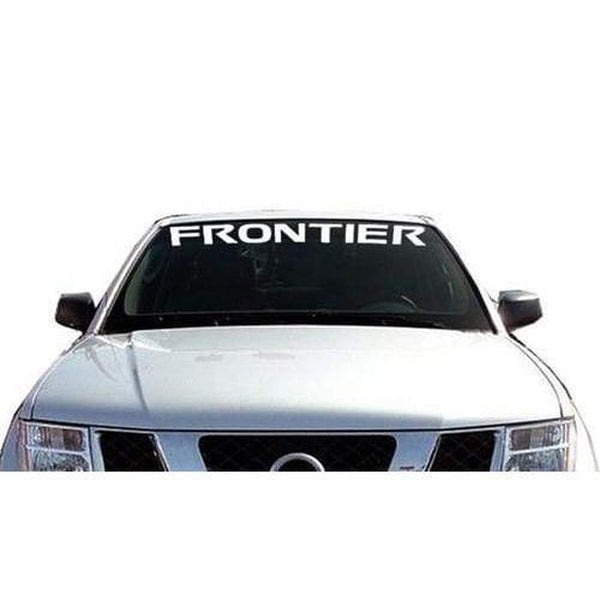 Nissan Frontier Windshield Banner Decal Sticker