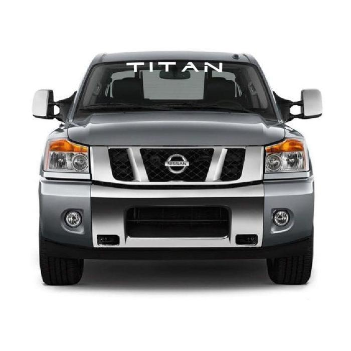 Nissan Titan Windshield Banner Decal Sticker