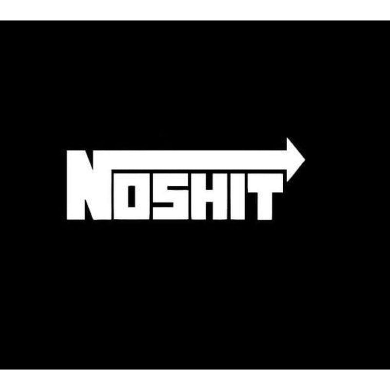 Nos NOSHIT Funny JDM Car Window Decal Stickers