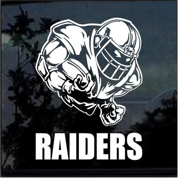 Oakland Raiders Football player Window Decal Sticker