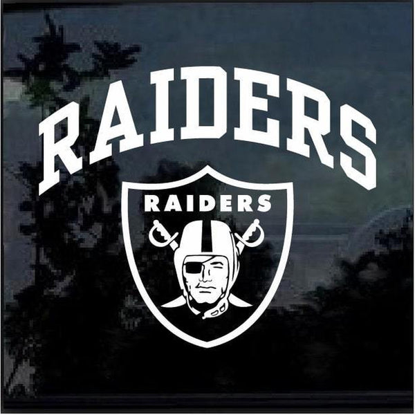 Oakland Raiders Window Decal Sticker