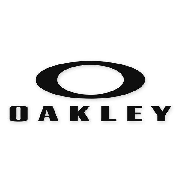 Oakley Glasses Brand Decal Sticker