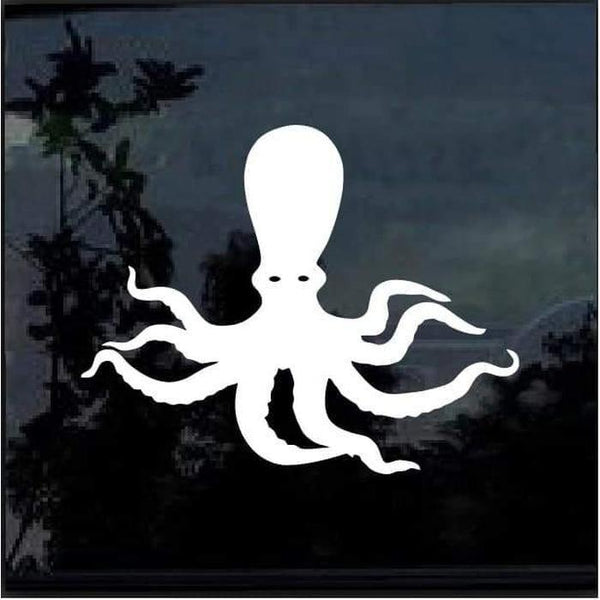 Octopus Window Decal Sticker