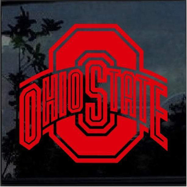 Ohio State Buckeyes Window Decal Sticker