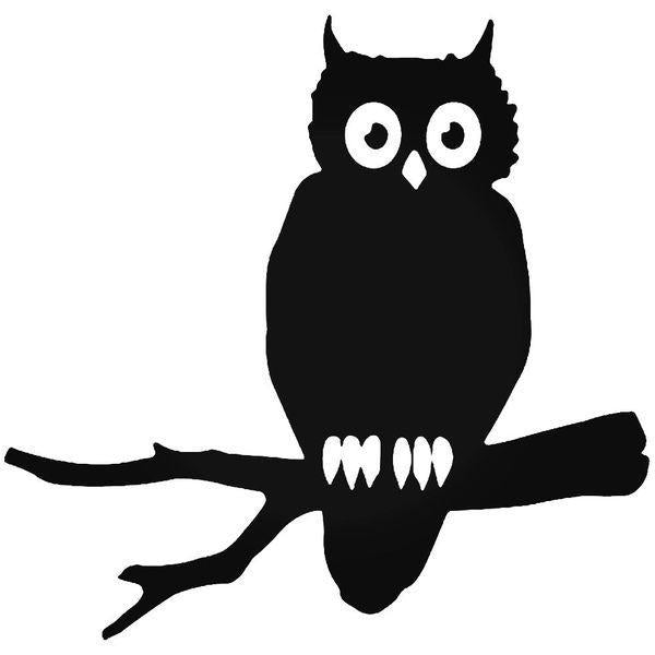 Owl Bird Decal Sticker
