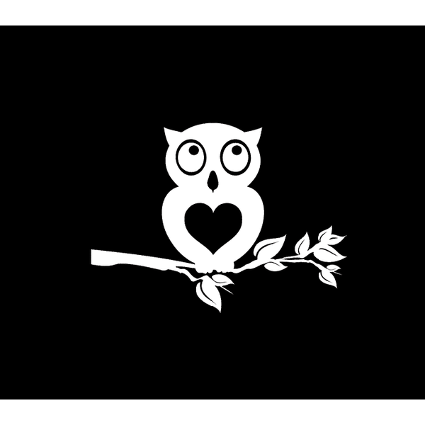Owl Owls Window Decal Sticker A2