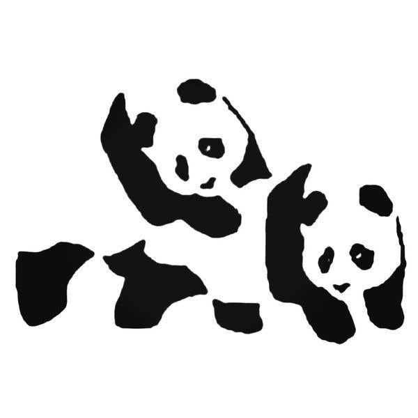 Panda Bonk Decal Sticker