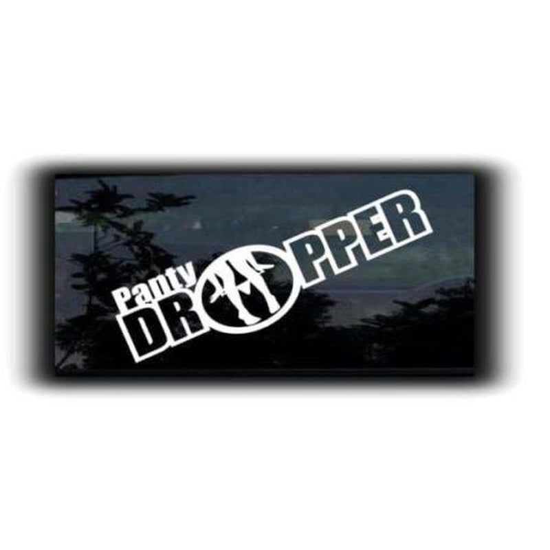 Panty Dropper JDM Car Window Decal Stickers