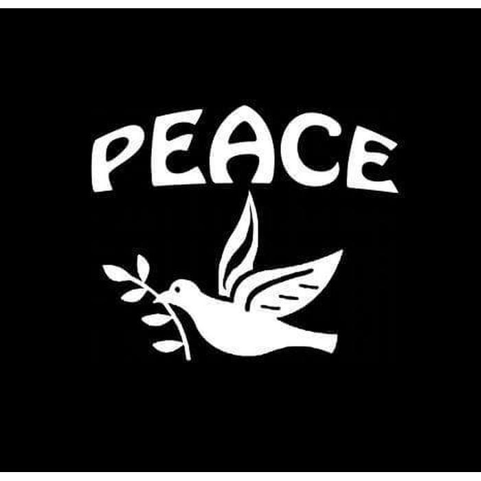 Peace Dove Christian Decal Stickers