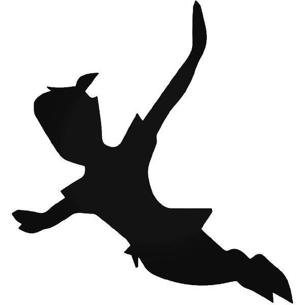 Peter Pan Flying Decal Sticker