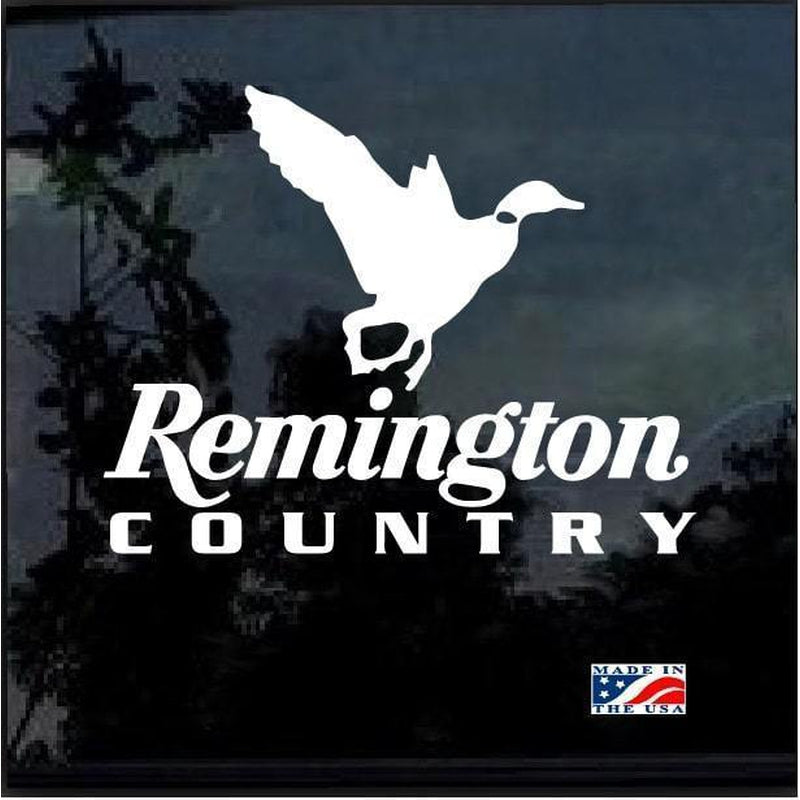 Remington Country Duck Hunting Window Decal Sticker