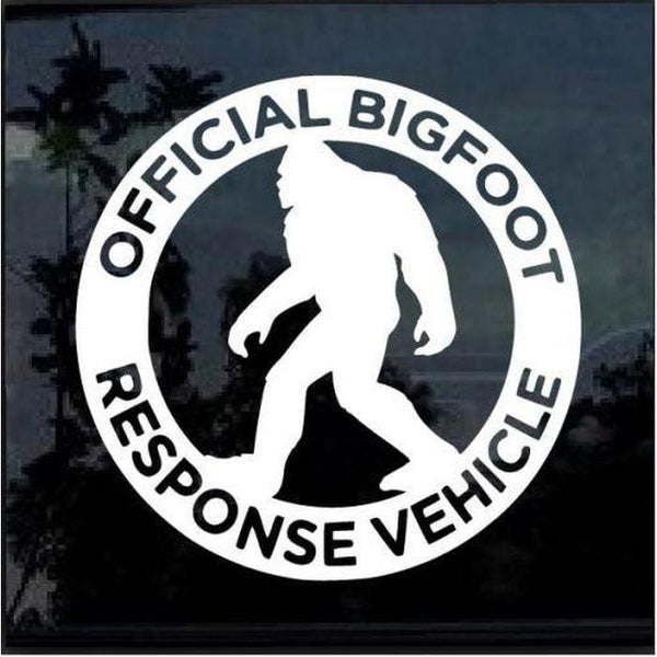 response vehicle Decal – Bigfoot stickers