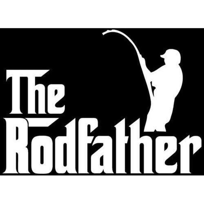 Rod Father Fishing Decal Stickers