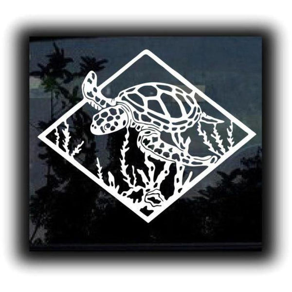 Sea Turtle Decal Sticker