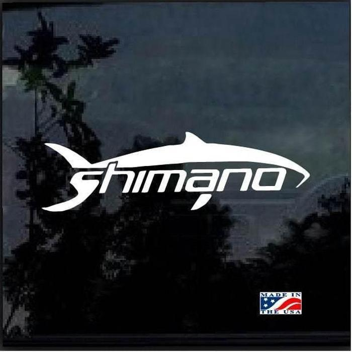 Shimano Fishing Decal Stickers