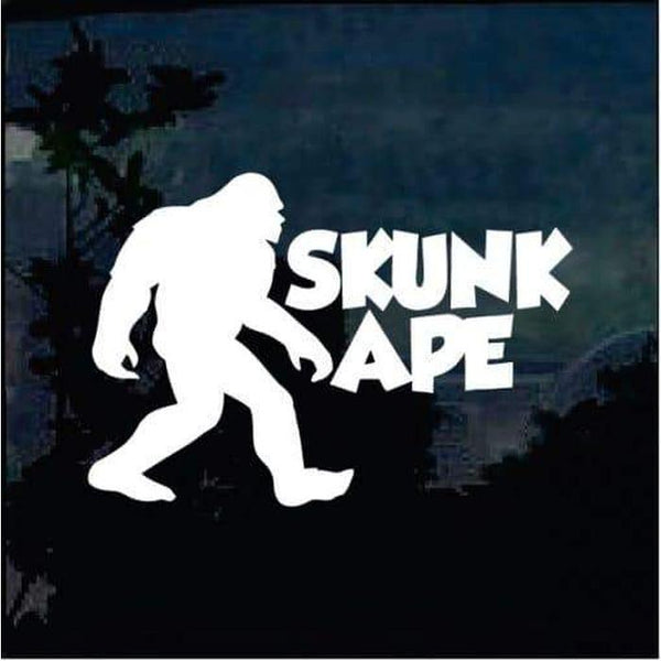 Skunk Ape Decal – Bigfoot stickers