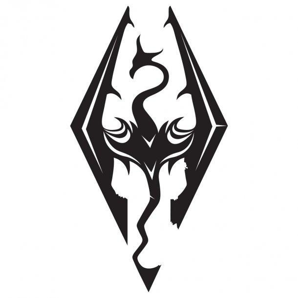 Skyrim Decal Sticker