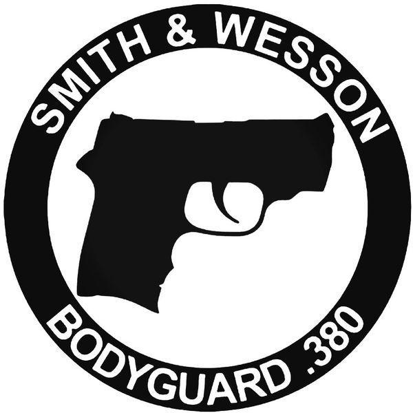 Smith Wesson Bodyguard Guns Decal Sticker