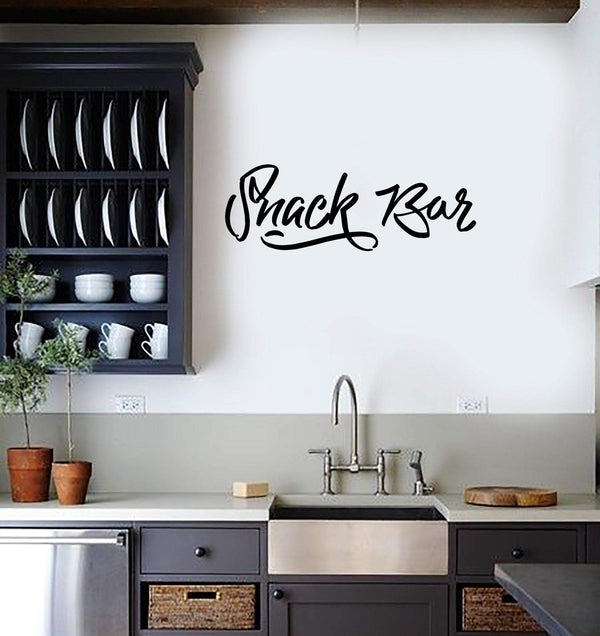 Wall Sticker Vinyl Decal Snack Bar Decor for Kitchen Home Food