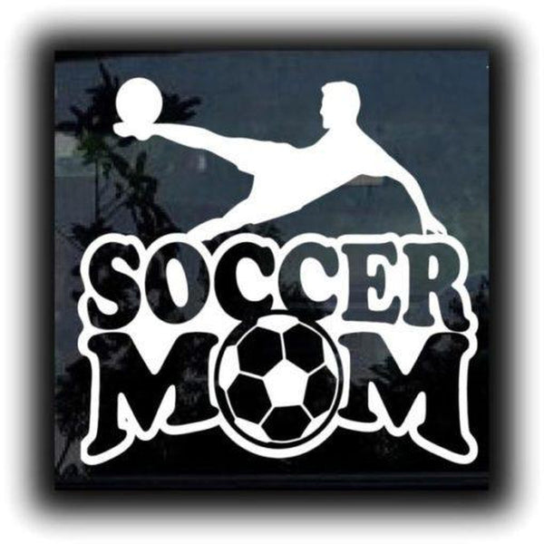 Soccer Mom Window Decal Sticker