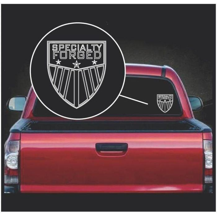 Specialty Forged Truck Decal Sticker