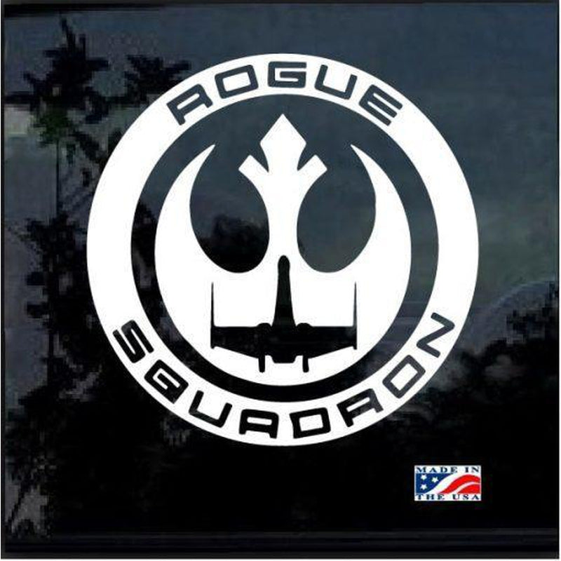 Star Wars Rogue Squadron Window Decal Sticker