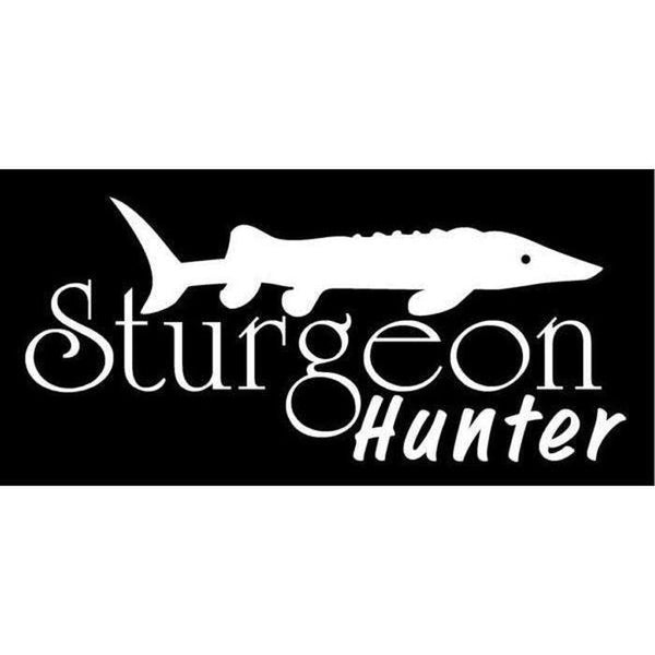 Sturgeon Hunter Fishing Decal Stickers